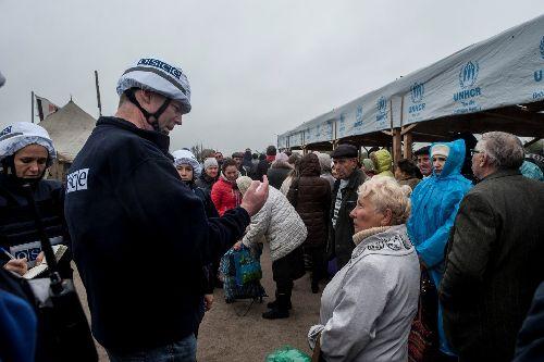 ОБСЕ: завчерашние митинги вКиеве платили по $10
