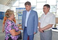 Мэр Кравченко проверил, как работают луганские вокзалы