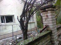 В Луганске под обстрел попали 10 домов