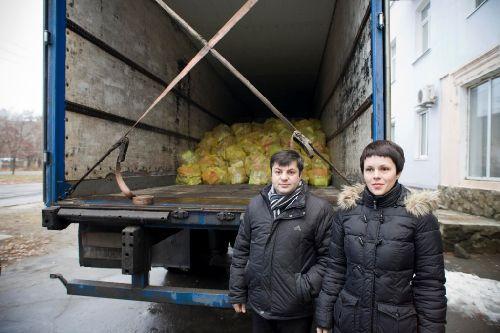 Дітлахам Луганщини привезено 2200 гуманітарних наборів