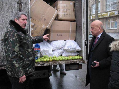 Із Чернівців на Луганщину привезли новорічні подарунки