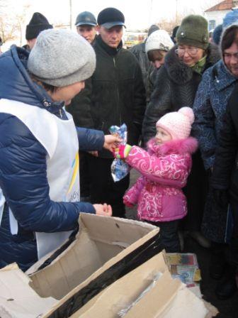 «Майбутнє Луганщини» допомагає мешканцям Старобільщини