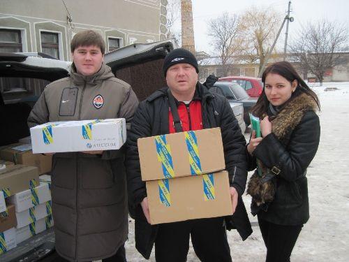 «Майбутнє Луганщини» допомагає Сватівським медикам