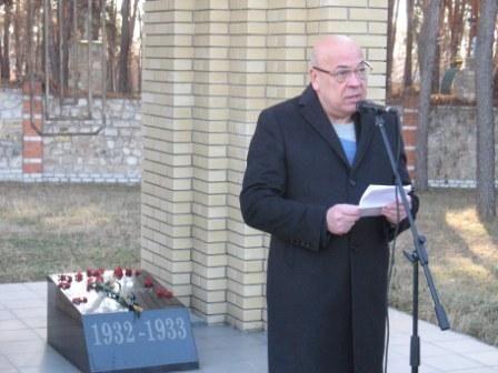 У Сєвєродонецьку відбулися жалобні заходи на вшанування пам'яті жертв голодоморів
