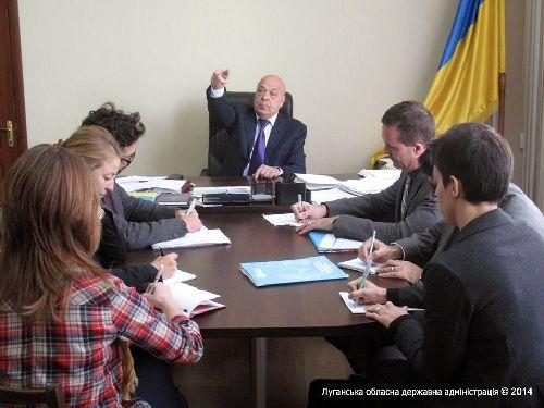 Геннадій Москаль: Загальний збиток, нанесений у результаті військових дій, на сьогодні становить 553 млн гривень