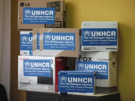ООН подарувала Державному архіву Луганської області оргтехніку