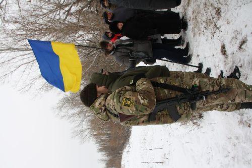 В Рубежном в День Вооруженных Сил Украины почтили память погибших воинов