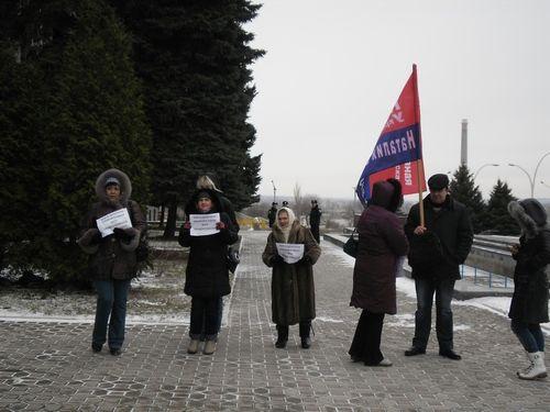 В Луганске «витренковцы» и монархисты протестовали против Ангела-Хранителя (ФОТО), фото-3