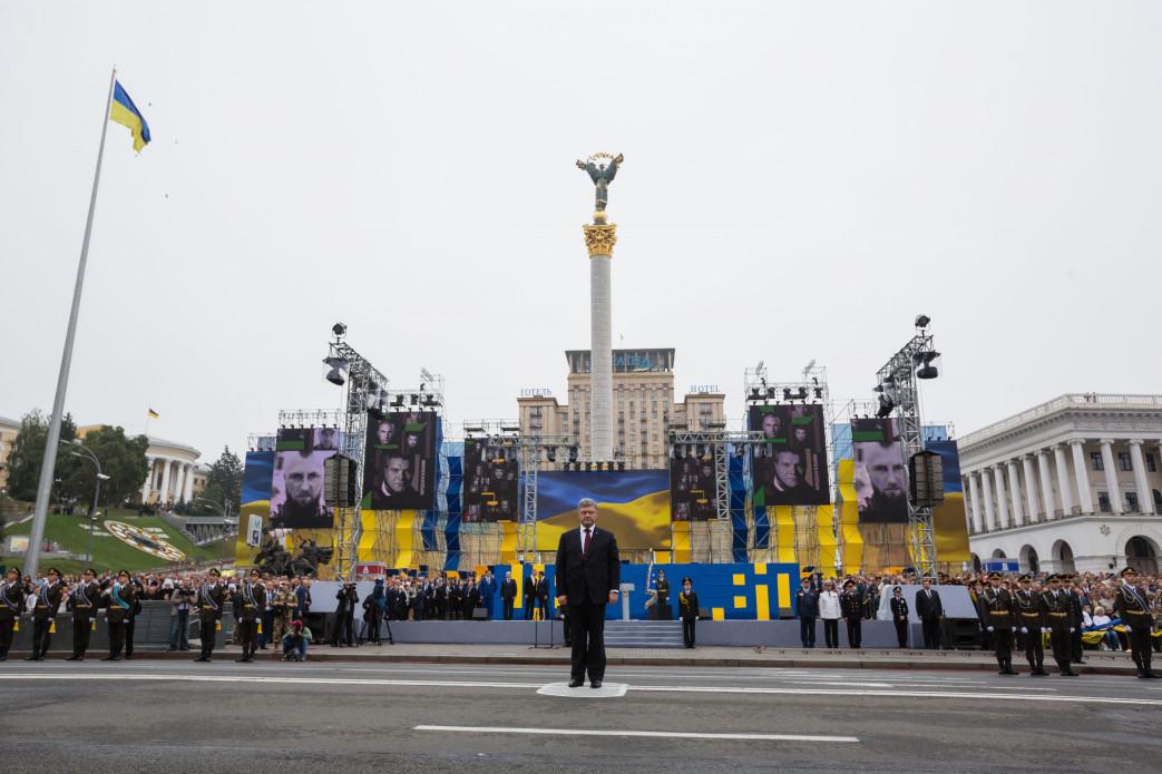 Порошенко: За неменее чем два года войны погибли 2504 украинских воина