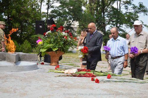Відбулися жалобні заходи до Дня скорботи і вшанування пам'яті жертв війни в Україні