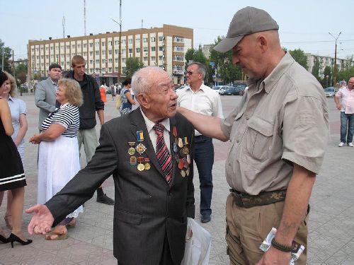 У Сєвєродонецьку  пройшли урочистості до 70-ї річниці завершення Другої світової війни