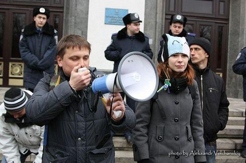 Евромайдан в Луганске: Свято наближається!